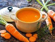 Крем супа от картофи, моркови и зеле